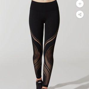 Lululemon precision cutout pants!
